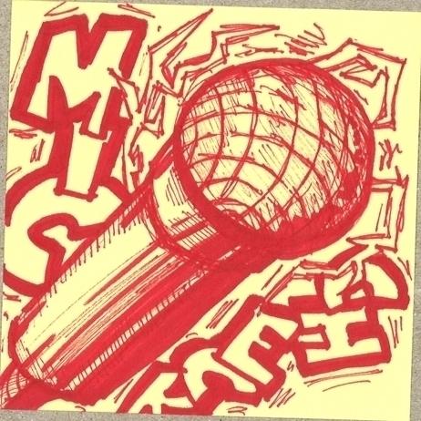 sharpie - sketch, hiphop - benji138 | ello