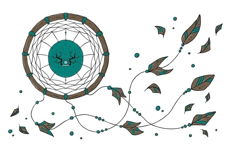 colorful drawing, rainy-windy M - zita-3948 | ello