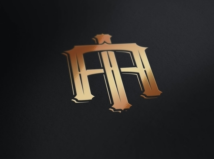 IA monogram created logo - brand - gibara | ello