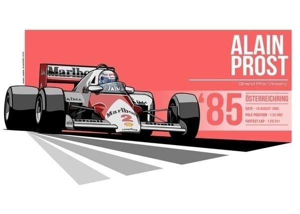 Alain Prost - 1985 Österreichri - evandeciren | ello