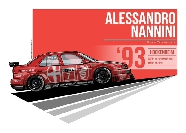 Alessandro Nanni - 1993 Hockenh - evandeciren | ello