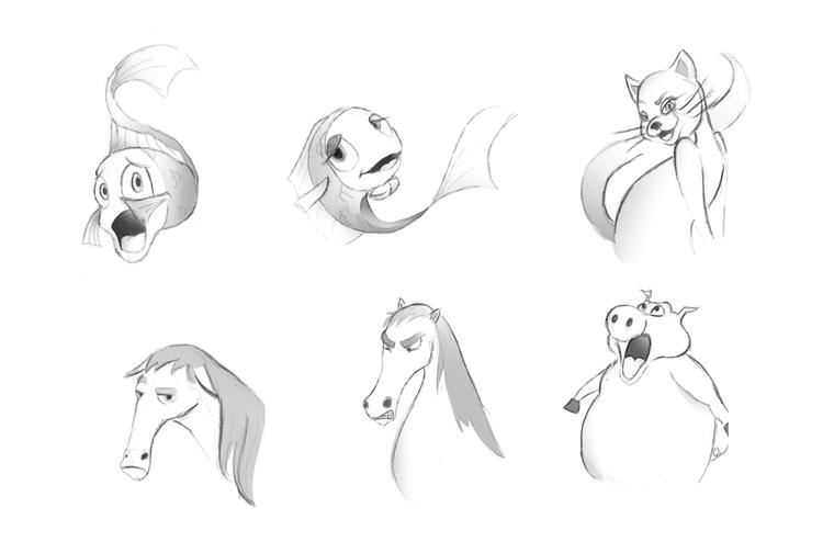 animation, characterdesign, drawing - roxanneeee | ello