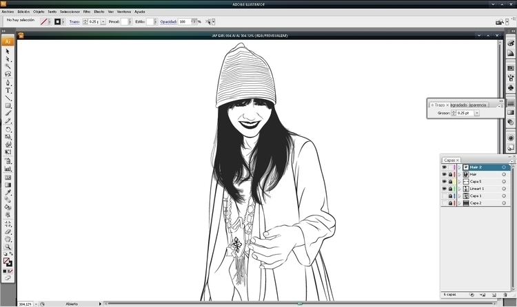 work finished, surprise - illustration - atsukosan-3588 | ello