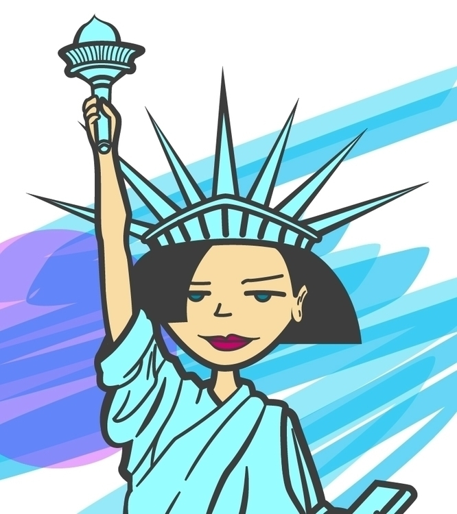 Jane Lane statue Liberty Daria - atsukosan-3588 | ello