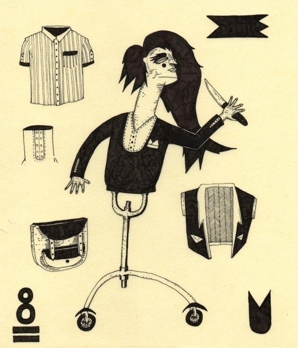 8 - illustration, drawing, rapidograph - marinamilanovic-2473 | ello