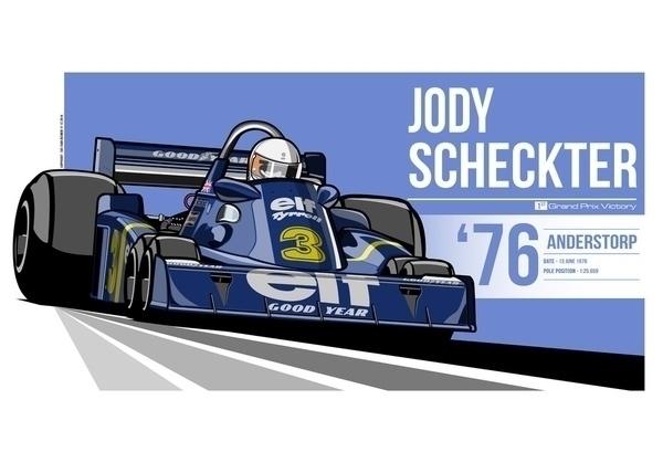 Jody Scheckter - 1976 Anderstor - evandeciren | ello
