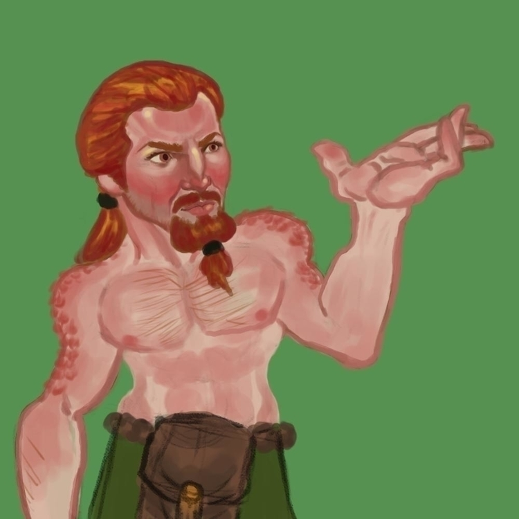 Mi Gente! character token Dwarf - nelsanity | ello