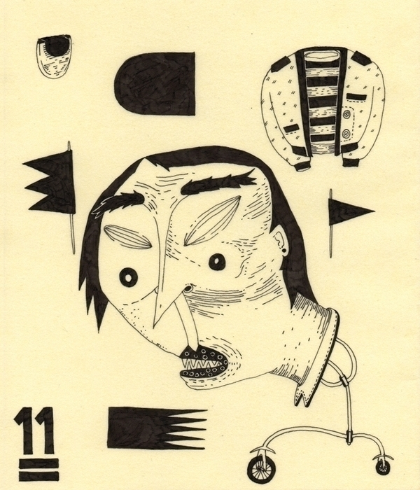 11 - illustration, drawing, rapidograph - marinamilanovic-2473 | ello