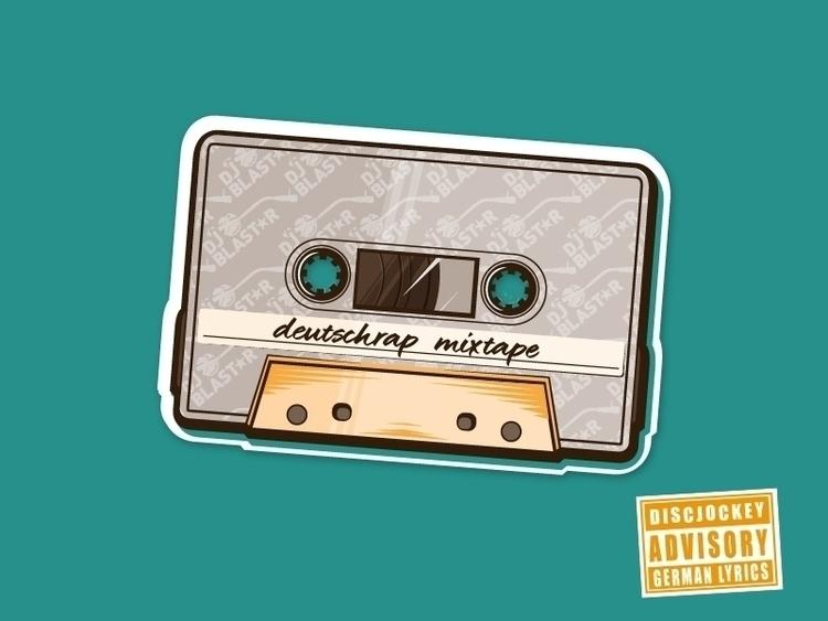 mixtape part illustrations Dj B - pommes-6889 | ello