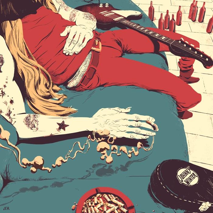 tribute illustration Johnny Win - juanesteban-1380 | ello