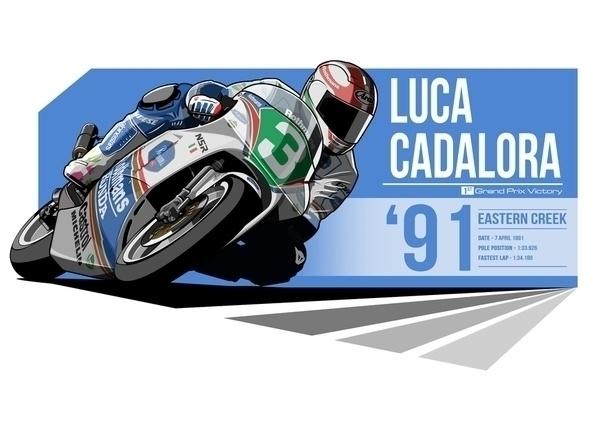 Luca Cadalora - 1991 Eastern Cr - evandeciren | ello