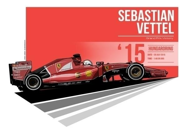 Sebastian Vettel - 2015 Hungaro - evandeciren | ello