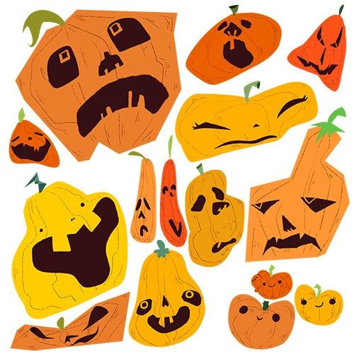 pumpkin spiced - halloween, characterdesign - jackie-1213 | ello