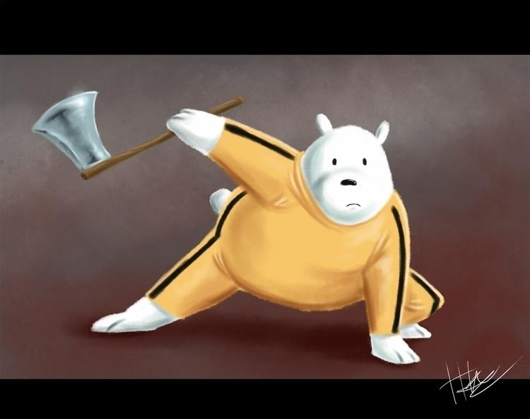 Ice bear awesome - webarebears, icebear - hasaniwalker   ello