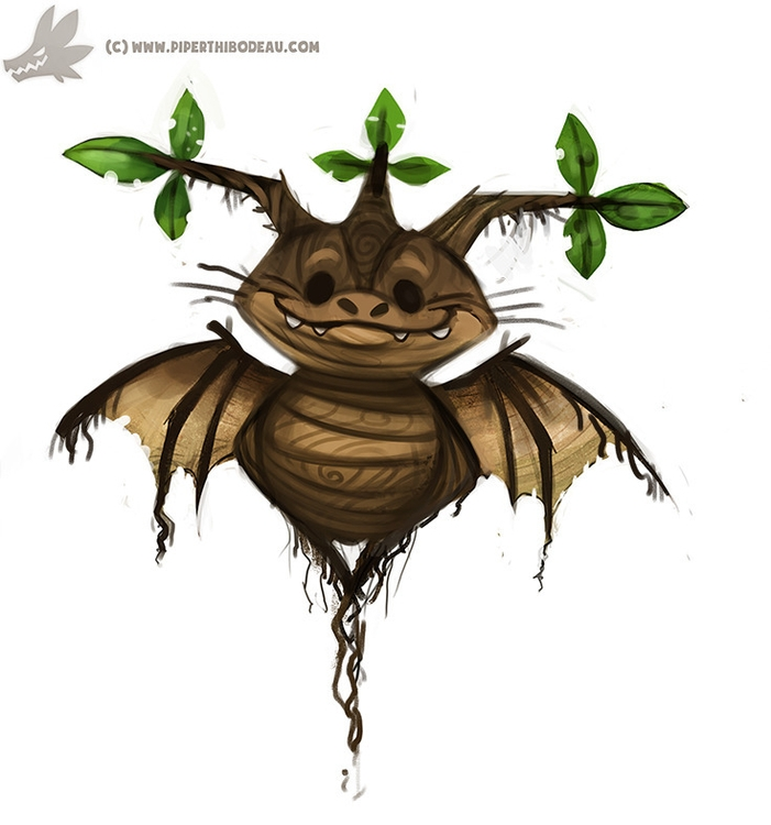 Daily Paint Mandrake Rootling  - piperthibodeau | ello