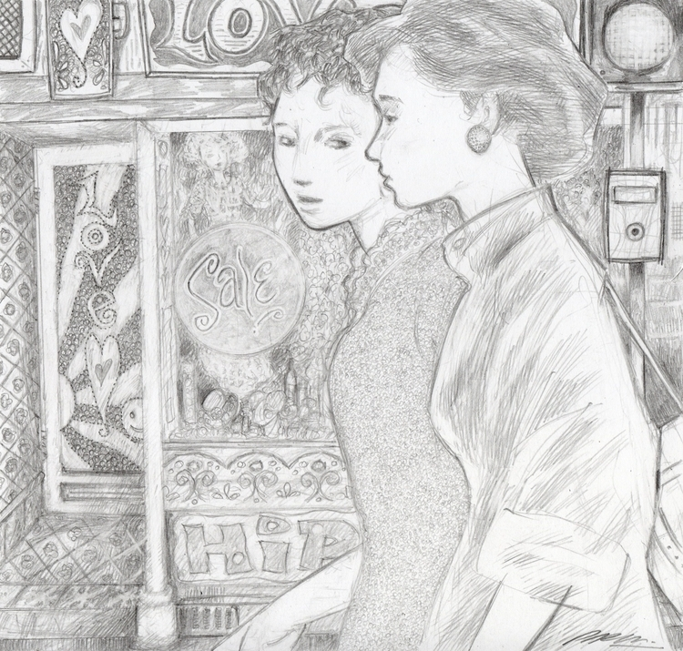 Day Yesterday. Pencil drawing:  - philmac-1244 | ello