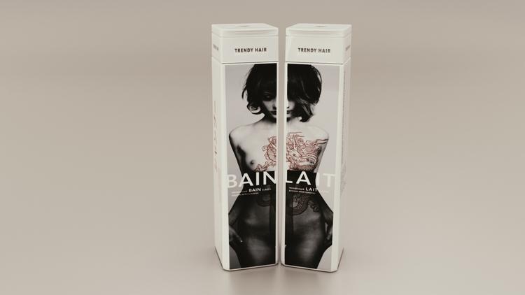 Hair Product - 3d, render, realistic - 3dbrianrincon | ello