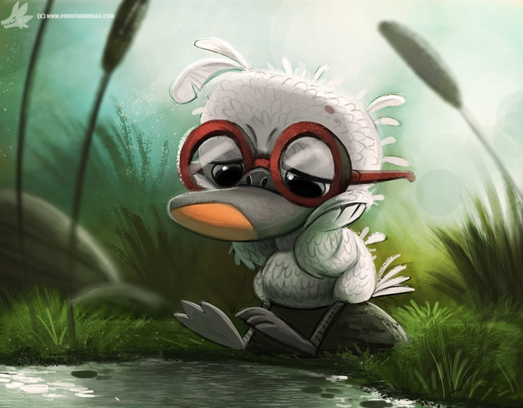 Day 835. Ugly Duckling - piperthibodeau | ello