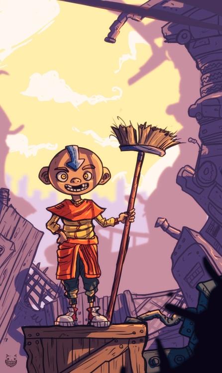Avatar (cosplay - illustration, characterdesign - maodraws | ello