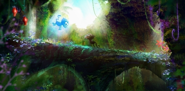 ghosts jungle. animals - illustration - gagatka | ello