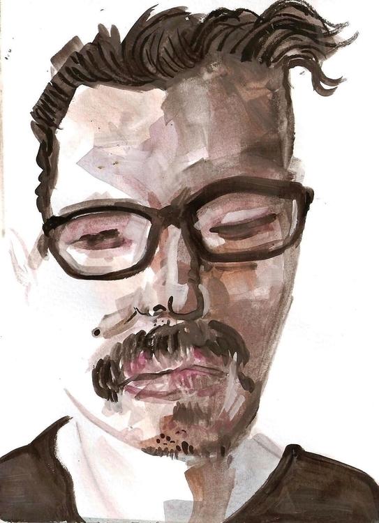 illustration, painting, drawing - orduzleon | ello