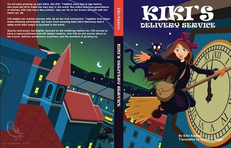 Cover image Delivery Service - kiki'sdeliveryservice - davesongart | ello