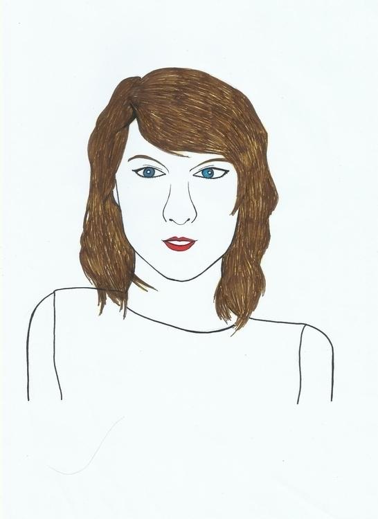 Taylor Swift - illustration, painting - novelia | ello