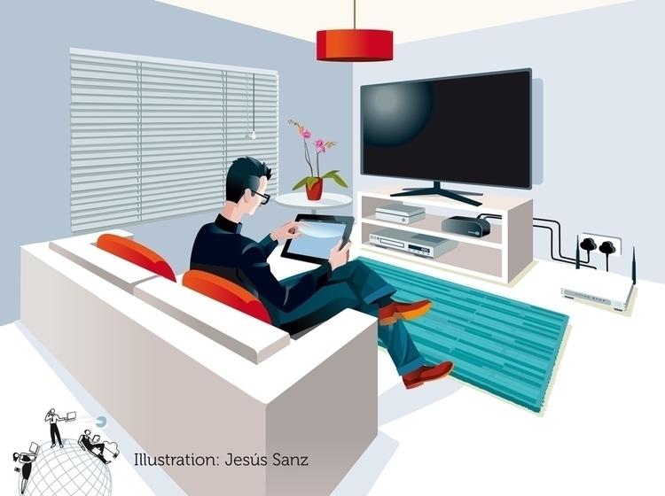 Ilustración realizada por encar - jesussanz | ello