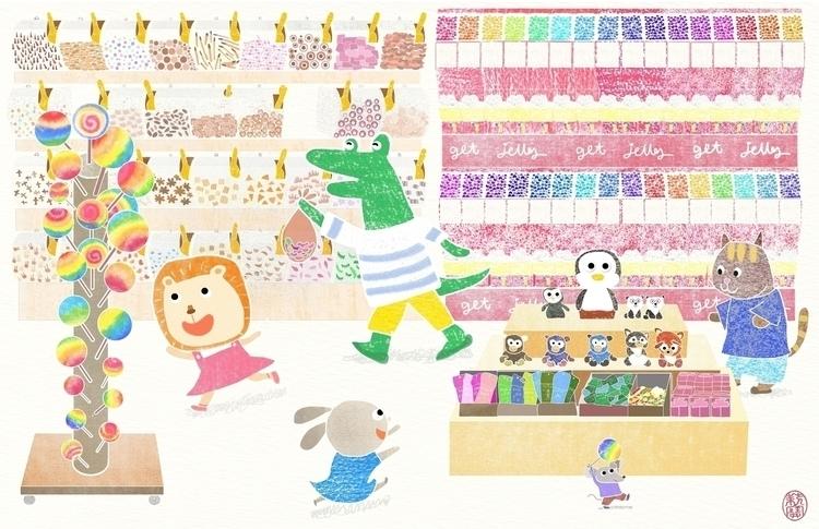 Candy Store -Port Jefferson Fri - lilyteng   ello