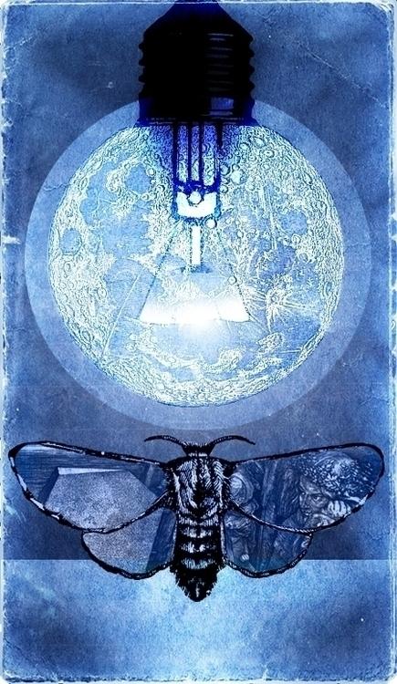 melancholy, Dürer, moon, lamp - ade-1063 | ello
