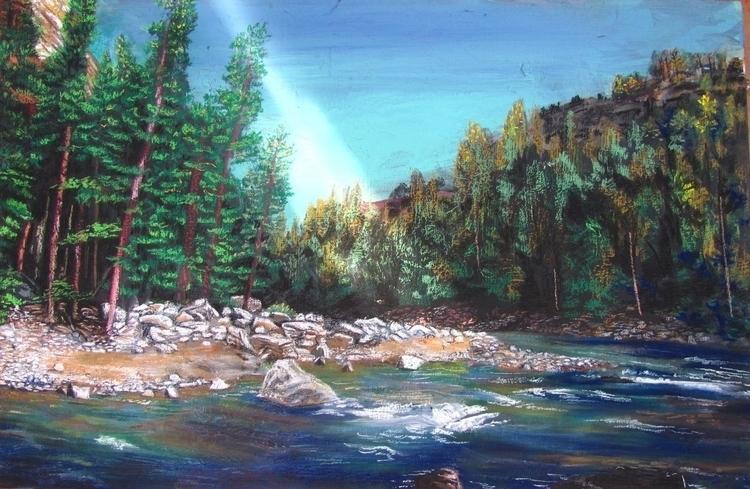 Yellowstone 003 - yellowstone, drawing - kennethshearer-1623 | ello