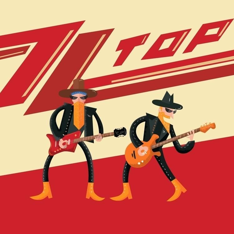 ZZ Top - zztop, gibbons, rock, music - nfiasche   ello
