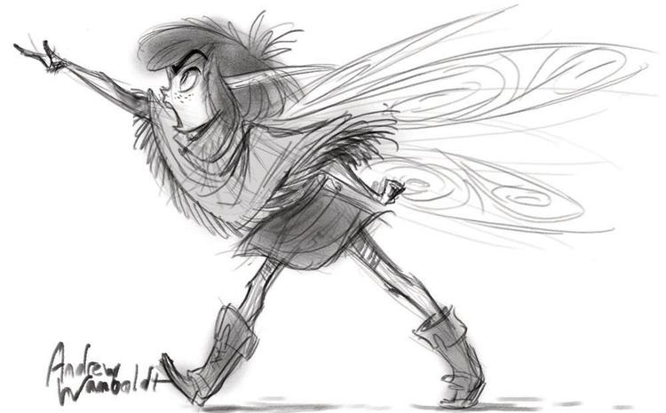 fairy, pixie, characterdesign - awamboldt | ello