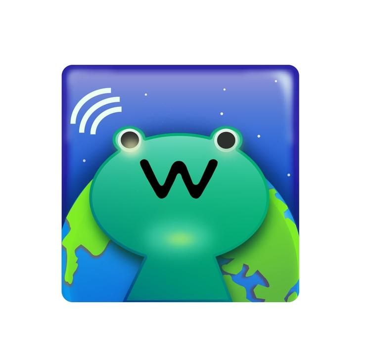 App WaNews icon design fun - illustration - yanyongchen | ello