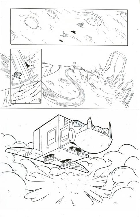 30 Parsecs page 4 - comics, comicbooks - kylebrightbill   ello