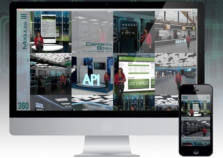 Brand website - branding, 3d, futuristic - riesena | ello