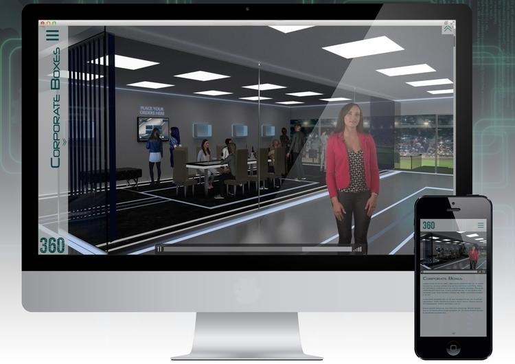 Brand website - futuristic, 3d - riesena | ello