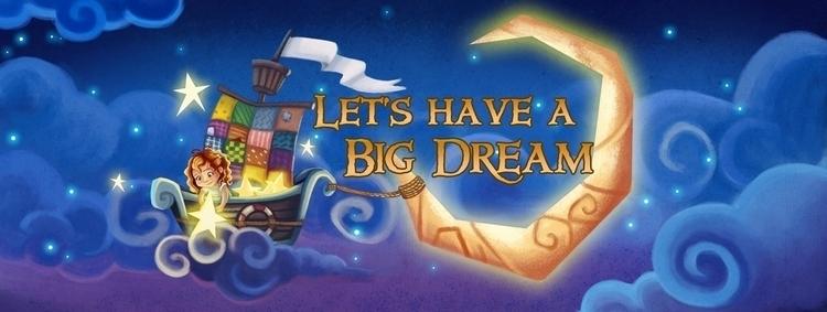Big Dream - illustration, painting - wenfancy | ello