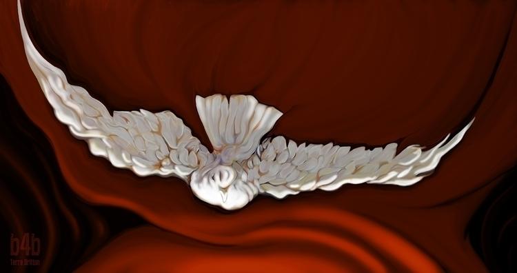 Soaring 2014, Acrylic Canvas Di - terrebritton | ello