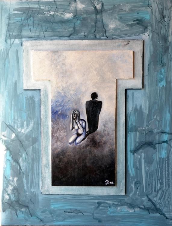 Title: Paintful Memories 25x70  - fagfedericaaglietti | ello