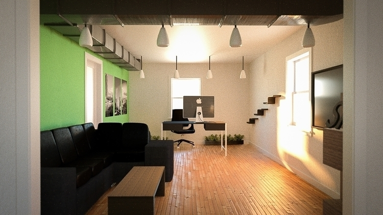Office Redesign - 3d - atolbert11 | ello