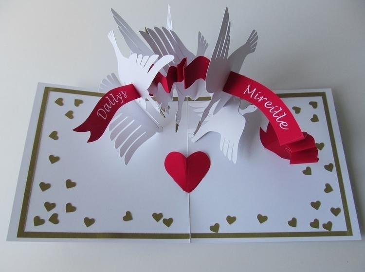 popup, greetingcard, paperart - kate_kazeykina | ello