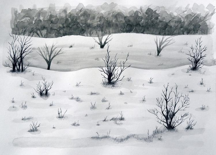 Landscape - illustration, animal - ruwett | ello