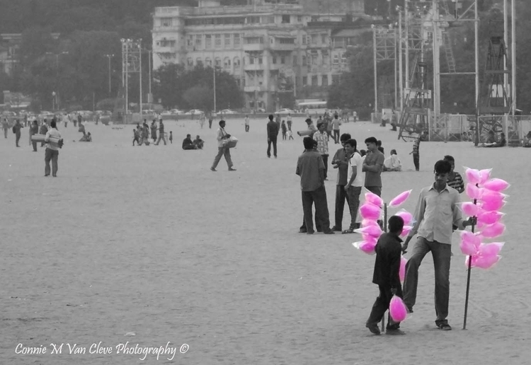 Chowpatty Cotton Candy - india, cottoncandy - cmvanclevephotography | ello