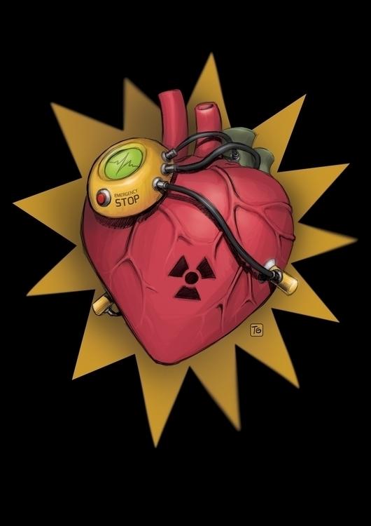 Atomheart - atom, heart - gladtom | ello