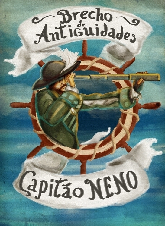 banner thrifft shop - illustration - caiooliveira-1135   ello