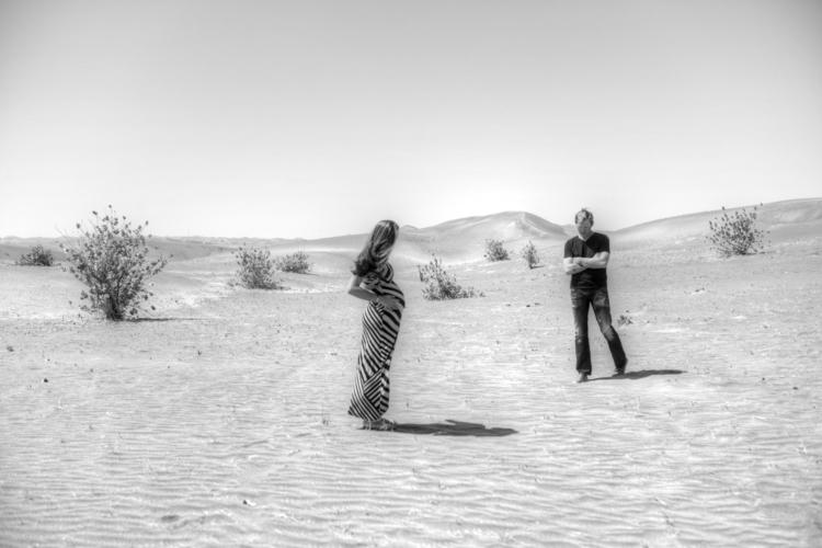 Souls Desert - desert, pregnancy - cmvanclevephotography | ello