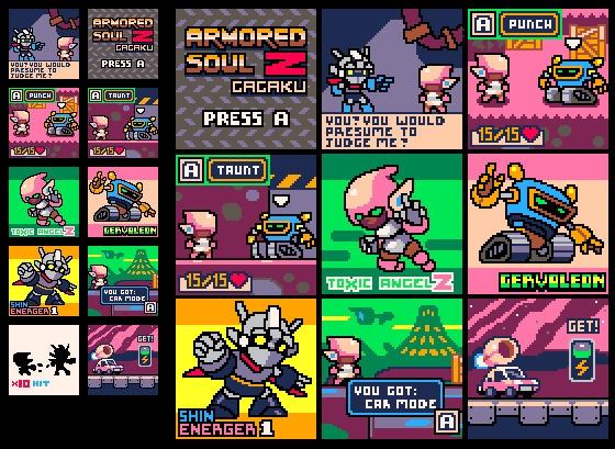 Armored Soul Gagaku ?? jrpg moc - castpixel | ello
