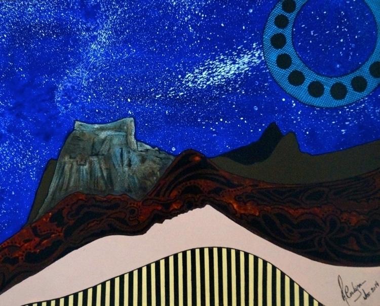 Star sky (Céu de estrelas) Acry - acardigon | ello