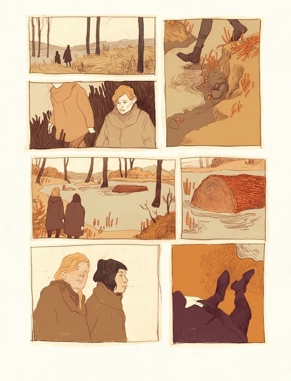 page 2 - illustration, graphicnovel - thomke-9244 | ello